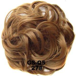 2020 Kadınlar Moda Stil Peruk Değiştirilebilir Gerçekçi Kabarık Çok renkli Kısa Curl Sentetik Peruk Saç Kapak