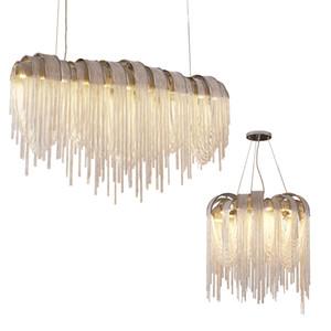 Nordic personalità post-moderno Lampadario Illuminazione soggiorno sala da pranzo Lampadario Modello creativo Penant lampada nappa d'arte ha portato lampada a sospensione