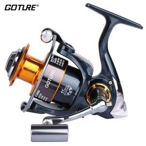 Goture Marca Original 5.2: 1 Espiral de Metal Spinning Fishing Reel GT4000 Carp Fishing Feeder Peixe Roda