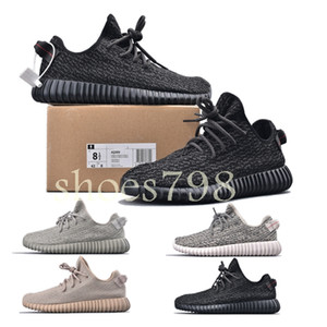 2019 melhores mulheres do desenhador de moda de luxo sapatos mens v1 Kanye West Dove pirata Turtle preto Moonrock Oxford Tan corredor da onda executando o tênis