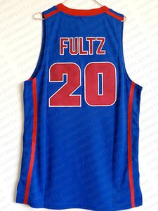 Pas cher gros Markelle Fultz Jersey 20 DeMatha Catholic High School Bleu Personnaliser un numéro de nom maillot de basket-ball HOMMES FEMMES DE LA JEUNESSE