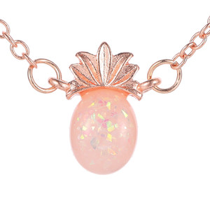 Hot Fashion Jewelry Women's Cute Pinapple Pendant Necklace Clavicle Chain Necklaces S373