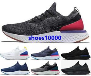 2020 de Epic Reaccionar mosca de punto libre del mismo tamaño de ejecución de los Estados Unidos 5 12 mujeres eur Negro 46 Zapatos Formadores las zapatillas de deporte de los hombres corrientes Mens ocasionales Elemento 55 87 corredores
