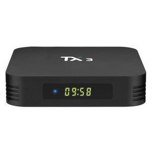 Tanix TX3 Smart TV BOX Android 9.0 Amlogic S905X3 8K Media Player 4GB RAM 32GB 64GB ROM 2.4G 5GHz Dual Wifi BT H.265 Set Top Box