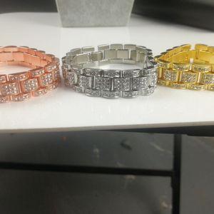 New Fashion Roman Numeral Hip Hop Bracelet Couple Bracelet Cuba 2020 Couple Bracelet Women Male Jewelry 001