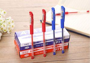 12pcs / pack Europea pluma de gel estándar 0 5 mm de agua Oficina aguja de la pluma Material Estudiantes Examen Especial