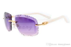 espelho gravura da cor, escultura em Jindian de moda de alta qualidade óculos de sol 8300075 lazer ultra-leve óculos quadro branco, tamanho: 60-18-140mm
