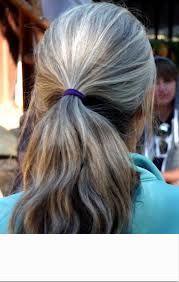 Mulheres ponytail extensão cabelos grisalhos cordão rabo de cavalo grampo de cabelo humano ondulado em peruca rabo de cavalo Fácil rabo de cavalo grisalho penteado prata