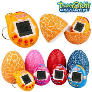 Tamagotchi Connection Dinosaur Surprise Egg electrónicas virtuais cibernéticos Pet Kids Brinquedos Presente