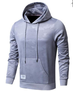 Designer Hoodies Mode schlanke große Tasche Panelled Herren Designer Hoodies beiläufige Männer Kleidung Camouflage Print Herren