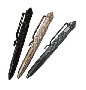 Flugzeug-Aluminium Defender Tactical Pen für Selbstverteidigung Glasbrecher Multifunktionale Survial Werkzeug Aviation Aluminiummetall Überleben Stifte