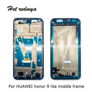10шт для Huawei Honor 9 Lite средней рамки Передняя Корпус ободок крышки Ремонт Часть Замена для Honor 9 Lite рамка + Боковая кнопка