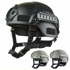 Qualité FAST léger casque MH casque tactique Airsoft vitesse Paintball tête de protection pour CS SWAT équitation chasse chasse tirer