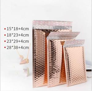 50pcs Nutzraum Rose Gold Poly Blase Mailer Umschläge gepolsterte Versandtasche Self Sealing Lagerung Geschenk-Beutel