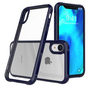 2019 beste transparente acryl phone cases für iphone x xr xs max 8 plus 7 6 6 s militärische schutzklasse fallschutz handy fällen
