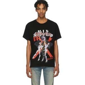 Luxe T-shirt européenne Clown Bande Imprimé Coton Mode Haute Qualité hommes et les femmes T-shirt Designer HFWPTX393