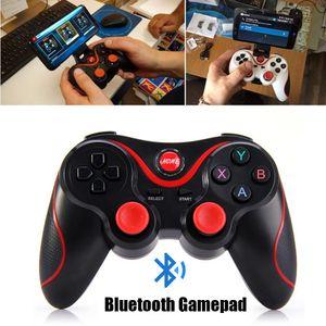 Новый S3 Wireless Bluetooth Геймпады Джойстики Gaming Controller Пульт дистанционного управления BT 3.0 для мобильного телефона Tablet PC держатель в комплекте
