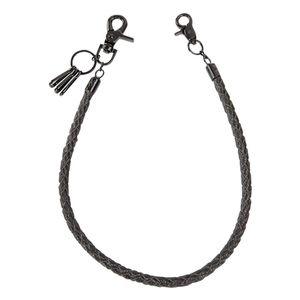 64 centímetros Anti Perdido Jean carteira PU Leather Solid Key Cadeia destacável cintura Hanging Hipster Rua Acessórios Fashion Party Retro