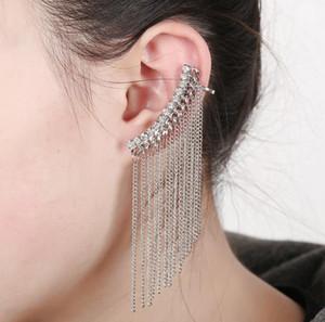 Livraison gratuite Mixed 20pcs alliage personnalité femmes diamants cristal Boucles d'oreilles clips oreille broches d'oreille Dance Party Lolita Punk Skull Bijoux 96