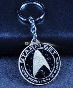 Hot Movie Star Trek llavero escudo llaveros amigo regalo llavero joyería llavero para coche