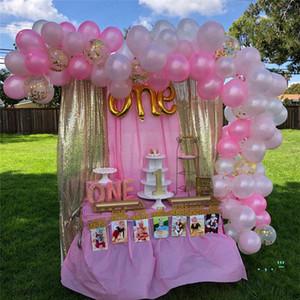 124pcs / set dia dos namorados balão Sequins balões de bling festa de aniversário do Festival paillette fontes do casamento airballoon Ornamentos E32502