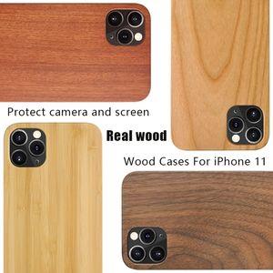للحصول على منحوت برو 11 نقش الخشب حالة تغطية خشبي الخيزران ل6S فون 8 7 زائد سامسونج غالاكسي S10 + S20 بالإضافة إلى تخصيص