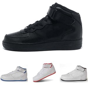 2020 new AF1 MID HIGH All black,All White Training Shoes Men's & Women's Lover Sport air Skate Sneaker Training Shoes