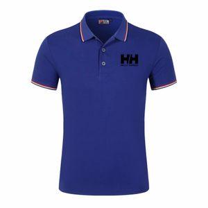 Designer nouveaux hommes de style polo Top maillots de chemise de coton manches courtes hommes broderie courte chemise polo vêtements hommes Hot ventes