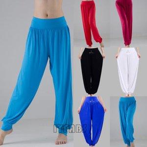 Nuevo estilo de las mujeres de cintura alta Atlética Harem Pantalón Baggy Pants Bloom linterna Estiramiento mayor de los zapatos cómodo de las bragas más el tamaño M L XL 2XL 3XL