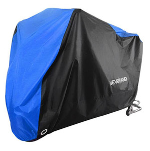 190T Black Blue Design Water Encourage Cover Motors Dust Rain WEV Protect Cover Indoor Outdoor M L XL XXL XXL