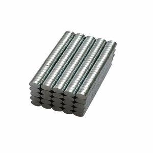 500pcs 둥근 Ndfeb 네오디뮴 디스크 자석 직경 3mm x 1mm N50 강력하고 강력한 희토류 Ndfeb Magnet