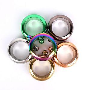 304 الألوان الفولاذ المقاوم للصدأ سوار الإبريق متعدد 3.5OZ جولة المعدنية وعاء النبيذ هوب قوارير النبيذ وعاء الإبريق سوار ملون الإبريق
