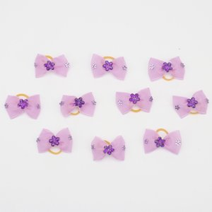 Small Dogs Accessories Bows Hair Product For Pets Supplies Hair Bows Grooming Yorkshire terrier accessori cani zwierzeta psy