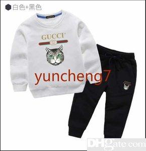 T-shirts Enfants Pantalons Noirs 2pcs Ensembles Valentine S Day Tenue Garçon Printemps Vêtements Enfant