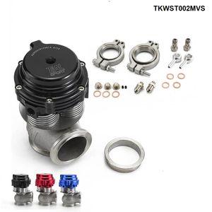 TANSKY - Compuerta de desechos externa para enfriador de agua, con banda en V de 38 mm MVS-A, incluye bridas y abrazaderas de banda en V 38MM WASTEGATE TKWST002MVS
