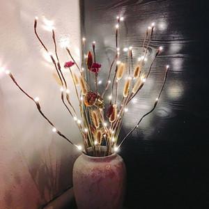 크리에이티브 (20)의 LED 지점 테이블 조명 발광 웨딩 크리스마스 축제 가정 훈장 낭만 버드 나무 나뭇 가지 램프