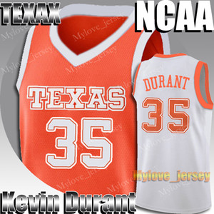 NCAA Texas University Kevin 35 Durant Jersey James 13 Harden Stephen 30 Curry Kawhi 15 Leonard Jerseys College Basketball Jersey