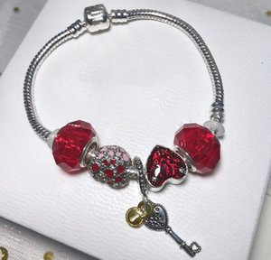 enamel charms bracelet shamballa bead bracelets glass crystal bracelet jewelry for girls antique diy jewelry making