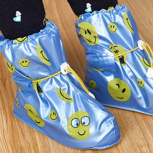 Couverture Chaussure imperméable pour enfants Rain Cover chaussures imperméables Recyclable Overshoes silicone Couvre-Chaussures Hommes Chaussures Covers Rain Boot