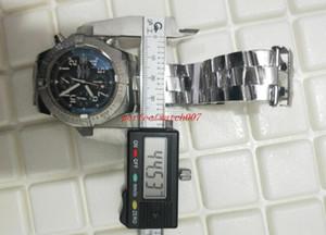 클래식 시리즈 최고 품질의 럭셔리 44.5mm 새로운 복수 자 A1338012 오션 레이서 블랙 VK 석영 크로노 그래프 작업 남성 시계 시계 다이얼