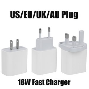 USB Wall Charger 18W Power Delivery PD Quick Charger Adapter TYPE C Charger US UK EU AU Plug Fast Charging for Samsung Smatphone