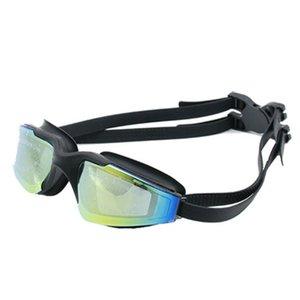 PC высокой четкости объектив Эластичная силиконовая рамка плавательный очки Женщины Мужчины Профессиональные гонки плавать очки Googles