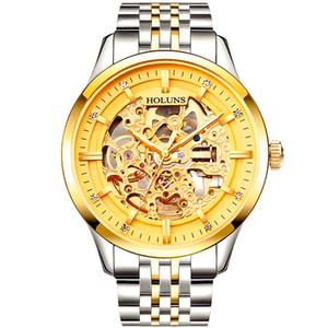 2021 Montre de Luxe Herren Uhren Top Luxus Business Automatic Machinery Watch Männer Sport Vollstahl Wasserdichte Designer Uhren