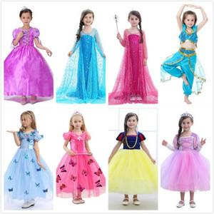 Fille Princesse Cosplay Costume Robe Film Rôle Jouer Fête D'anniversaire Robe De Mariage Robes pour Halloween Noël