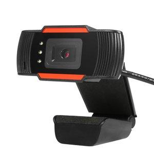 Frete grátis HD Webcam Web Camera 30fps 640X480 PC Camera Built-in som de absorção de microfone USB 2.0 Video Record Para pc computador portátil