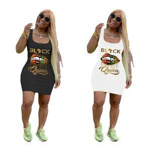 Summer dress sleeveless tank top dress women designer dresses bodycon skinny skirt beach party evening dress slim dresses klw4094