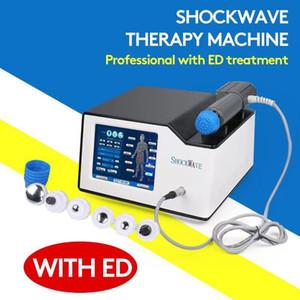 2020 NEW Version Stosswellenphysio Maschine zur Behandlung ED / elektromagnetische Stoßwellentherapie für Cellulite Reduktionsbehandlung