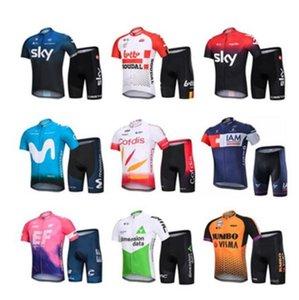 SKY sürme takım dağ yol bisikleti yaz kısa kollu elbise unisex nefes hızlı kurutma Filo versiyonu özelleştirilebilir