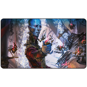 Magic Board Game Playmat:DOVIN BAAN 60*35cm size Table Mat Mousepad Play Matwitch fantasy occult dark female wizard2Trial oTE