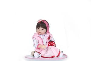 Bebe Reborn Silicone Reborn Baby Doll Toy Princesse Toddler Bébés Comme Vivant Bebe Filles Brinquedos Collection Cadeau D'anniversaire